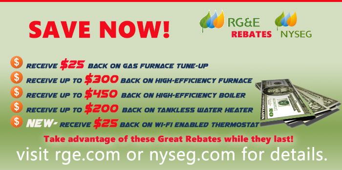 RG&E/NYSEG Rebates Rebate Card